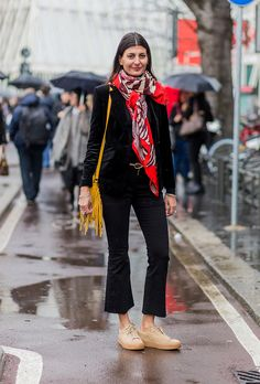 Milan Fashion Week Fall 2016 Street Style  See All the Best Outfits    StyleCaster Classique d886fe07e07