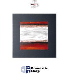 QUADRO STONES 80 x 80 cm DIPINTO AD OLIO SU METALLO SU TELAIO CON COVER IN TELA NERA COD.QU077A http://www.domesticshop.it/index/product.php?id_product=1535