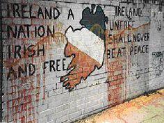 July 2005 CE – The Provisional Irish Republican Army Institutes a Permanent Disarmament Belfast Murals, Irish Independence, Irish Republican Army, Erin Go Bragh, Luck Of The Irish, Irish Luck, Freedom Fighters, Street Art Graffiti, Northern Ireland