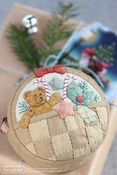 Вечерние посиделки: Косметичка — корзинка с подарками / Pouch — Basket with…