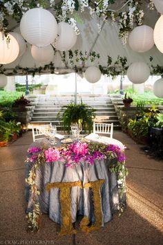 #Throwback to one of our favorite #gardenweddings! @itsashething #PartyMosaic Chic Urban Garden Wedding - Mosaic, Inc.