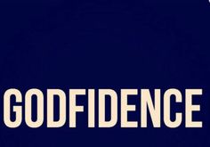 Confidence in God & Not self!!!