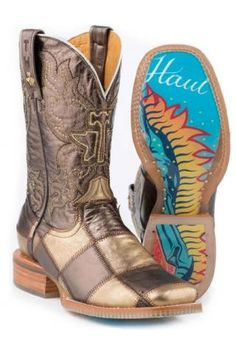 Elemental Guadalupe Tin Haul Boots!! – Henderson's Western Store