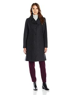 """Anne Klein women's single breasted notch collar walker       Famous Words of Inspiration...""""Nobody expects to trust his body overmuch after the age of fifty.""""   Alexander Hamilton — Click here for more from Alexander...  More details at https://jackets-lovers.bestselleroutlets.com/ladies-coats-jackets-vests/wool-pea-coats/product-review-for-anne-klein-womens-single-breasted-notch-collar-walker/"""