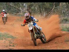 Nick waters at hattah desert race 2014 honda o'neil arai helmets 452