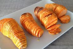 A super easy recipe for crispy baked sweet potatoes. French fries don't stand a chance!