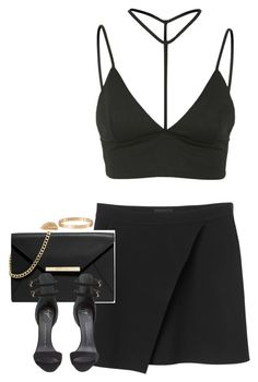 """""""Untitled #1152"""" by lovetaytay ❤ liked on Polyvore featuring Monki, Oh My Love, MICHAEL Michael Kors, Giuseppe Zanotti, Cartier and Shaun Leane"""