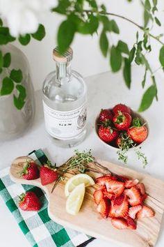 summer strawberry gin spritz   recipe on coco kelley