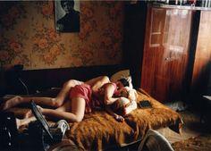 Bertien van Manen/Rostov en el Don – Maxim y Tanja durmiendo (1993)