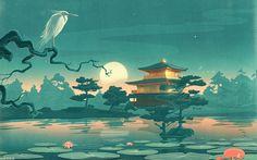 Japanese print, wish I knew who created it!