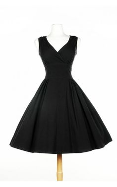 Pinup Couture- Scrumptious Dress in Black | Pinup Girl Clothing | Bridesmaid Dress