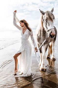 ⚜ I'm a true romantic at heart. I adore all things frilly, delicate, and feminine. Horse Wedding, Boho Wedding, Wedding Blog, Wedding Dress, Horse Girl Photography, Fashion Photography, Horse Fashion, Boho Fashion, Bohemian Style