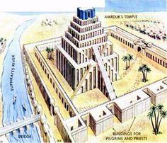 Tower of Babel, Babylon, Iraq