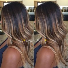 ❤️Who says you can't go lighter during the Fall/Winter months? If you plan on being lighter for the summer, I wouldn't recommend go dark at all. Adjust your tones, work on the condition of your hair using @brazilianblowout styling products also ask your stylist for @brazilianbondbuilder Demi conditioning treatments and you won't have regrets the following year☺️. ❤️Here is yesterday's Multidimensional, high contrast, Opal toned brunette ✨Painted Hair✨❤️. Snapchat:Pa1ntedhair You...