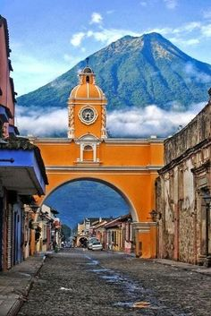 Antigua, Guatemala. I walked these streets alone when I was 19. a wonderful travel experience for myself