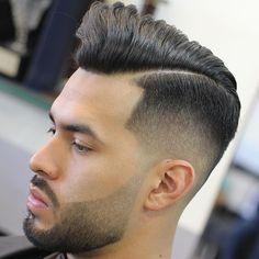 Haircut by mr_fineline http://ift.tt/1ZCXI6M #menshair #menshairstyles…