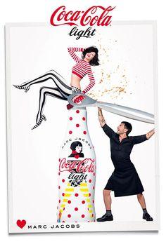 Coca Cola Light Marc Jacobs Poster Sparkling Together