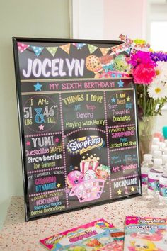 Customized Shopkins birthday party ideas                                                                                                                                                                                 More