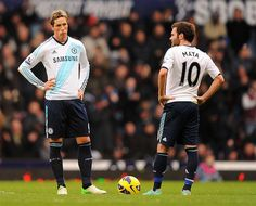 Match 12/13 - West Ham (a) by Chelsea Football Club, via Flickr    Fernando Torres on the left and Juan Mata on the right.