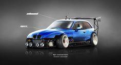 ArtStation - BMW Z3 M Inbound Racer V2 BLUE, Yasid Oozeear