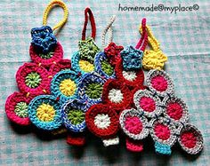 homemade@myplace: Make it ! Christmas tree decorations !!! Free pattern