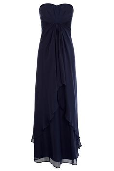 A gorgeous luxurious floor-sweeping gown that is sure to put you in the limelight. This PETITE style is designed to fit women of 5ft 3 (160cm) and under. ...  What do you think of this one?  it is specifically designed for petite ladies so wont need taking up.  All sizes too!
