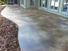 Here's a Back Patio we just Finished, the concrete was at least 20 years old we had many cracks to be repaired and now it looks Brand NEW!!