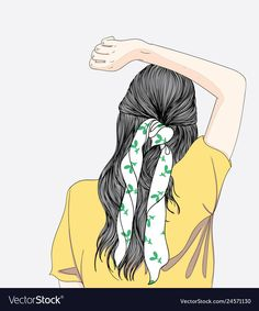 The woman is stretching the line.She turns her back in the morning.Doodle art co headphone ilustration Girly Drawings, Art Drawings, Cartoon Art Styles, Digital Art Girl, Best Friend Drawings, Cute Cartoon Wallpapers, Human Art, Anime Art Girl, Art Sketchbook