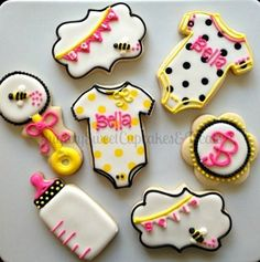 263 Best Celebration Baby Shower Cookies Images Baby Shower