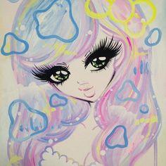 illustration dollface