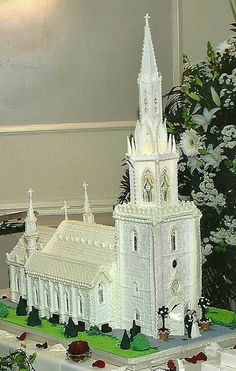 МК церковь из айсинга Royal Icing Church Tutorial