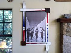 vintage ski art by furnature on Etsy, $500.00