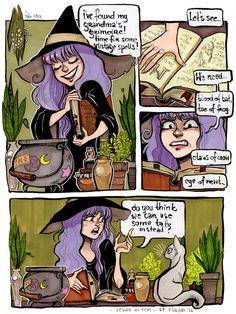 vegan witch by Fukari.deviantart.com on @DeviantArt