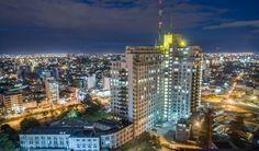 Montevideo, Hospital de Clínicas. Foto: Drone 5
