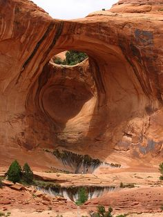 ~ Bow Tie Arch ~ Moab, Utah....I wonder what the First People called it?