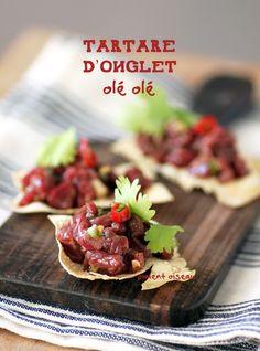 Tartare d'onglet- Raw beef tartare