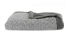 Saranoni Gray Swirl/Charcoal Lush Mini-Blanket