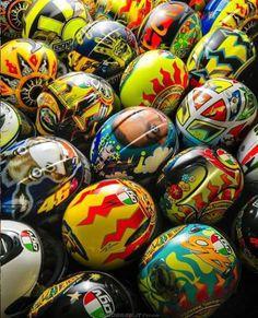 Collectie VR #46 Helmets.