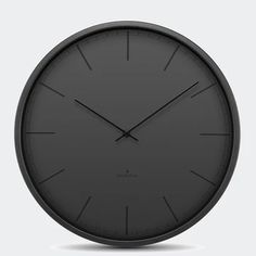 The Black Tone clock by Huygens is a minimalist wall clock with black matt clock face and contrasting glossy hour markers and hands. This contemporary wall clock features a silent Japanese quartz mechanism, stainless steel case and glass front cover. Captain Marvel, Minimalist Wall Clocks, Mantle Clock, Clock Wall, Cool Clocks, Modern Shop, Square, Stainless Steel Case, Steel Frame
