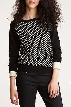 jersey de punto cuello redondo gris negro de vero moda eat vero moda