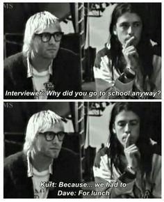 Nirvana tomfoolery.