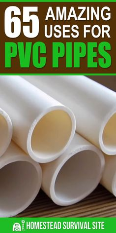 PVC is normally used for plumbing or drainage. But if you're creative, you can find dozens of other uses for PVC pipe around the homestead. Pvc Pipe Crafts, Pvc Pipe Projects, Diy And Crafts, Projects To Try, Lathe Projects, Diy Pipe, House Projects, Woodworking Projects, Homestead Survival