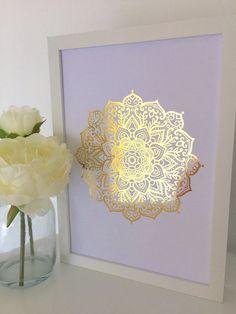 Mandala lotus Big Tailles Réutilisable Stencil Wall Decor Travel oriental bohème art