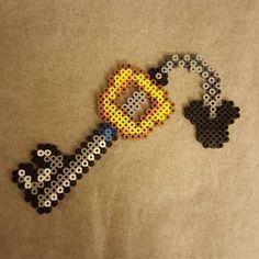 Keyblade - Kingdom Hearts perler beads by mrs_etzel