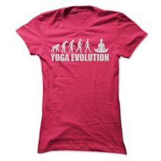 YOGA EVOLUTION T Shirts, Hoodie. Shopping Online Now ==►…