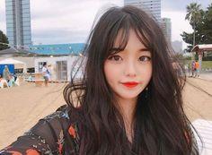Pinterest☆*:.。.@Seoullum#NYC.。.:*☆ INS@seoullum.nyc__1112 Followme⭐️ Ulzzang Korean Girl, Cute Korean Girl, Asian Girl, Ullzang Girls, Cute Girls, Asian Makeup, Pretty Asian, Girl Inspiration, Tumblr Girls
