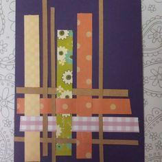 Stick Stitch Cut: Scrap-attack - woven scraps