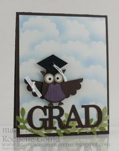 Cute graduation card