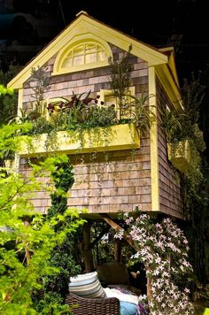 Tree House - Picture of Tree House at Boston Flower Show