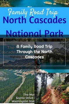 Ready for an amazing road trip? Route 20 is the only route through North Cascades National Park, and it\'s unbelievable. #nps #nationalparks #pnw #camping North Cascades National Park, Family Road Trips, National Parks, Camping, Outdoor Camping, Campers, Tent Camping, Rv Camping, State Parks